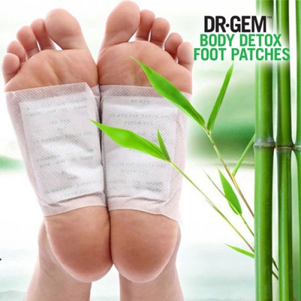 Afbeelding van Dr. Gem Body Detox Foot patches